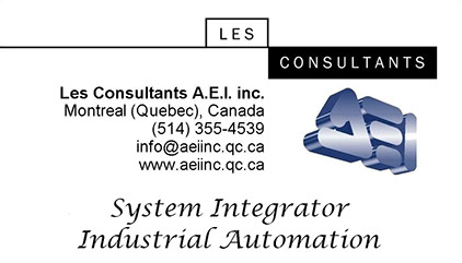 AEI - System Integrator - Industrial Automation